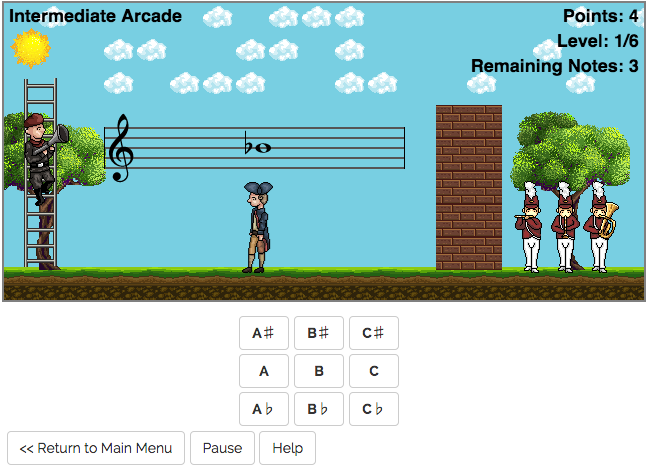 Music Learning Games - Noteorious
